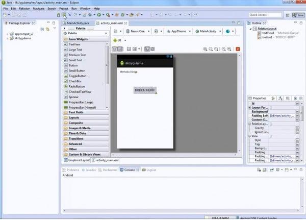 Android SDK Manager ve Emülatör Oluşturma