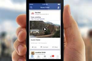 facebook 'ta video izlemek