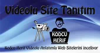 Videolu Site Tanıtım ile İlgili Bilgi ve Başvuru İçin Tıklayın