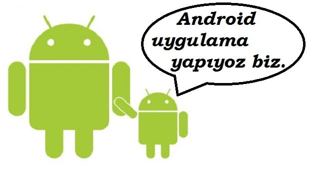 Android Buton, EditText ve TextView ile Uygulama