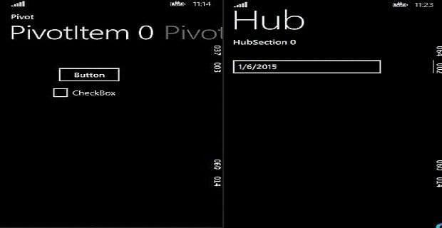 Modern Windows Uygulama Geliştirme (Ders 3 - Pivot ve Hub)