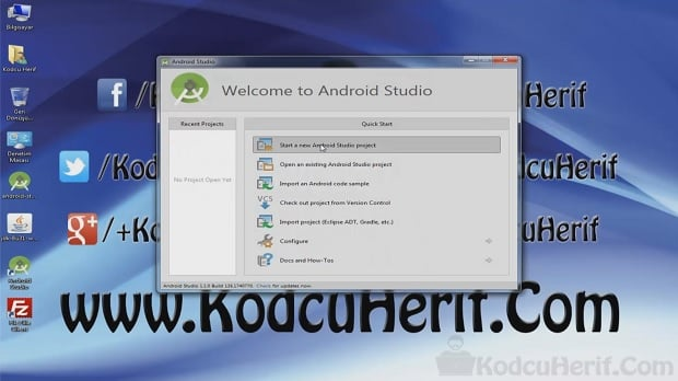 Android Studio 'da Android Uygulama Oluşturma