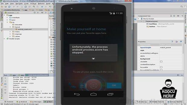Android Studio 'da Emülatör Oluşturma