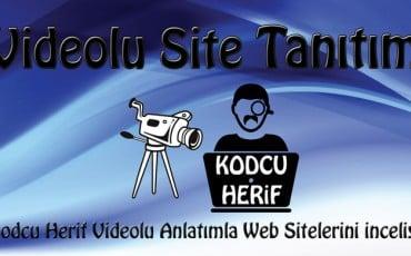 Kodcu Herif Videolu Anlatımla Web Sitelerini İnceliyor