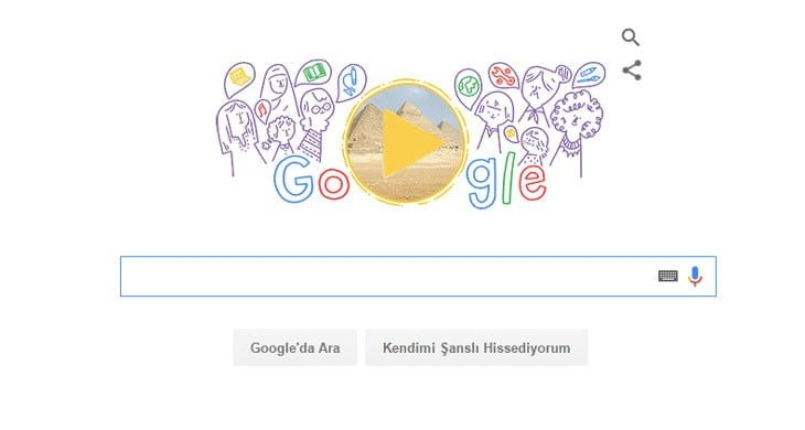 Google 'ın Dünya Kadınlar Günü Nedir Doodle 'ı