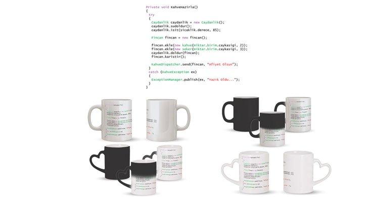 Yazılımcı (Programcı) Kupa Bardak