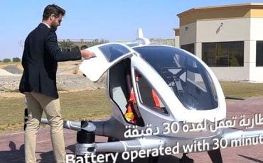 Taksi Drone 'lar Geliyor
